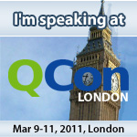 Speaking at QCon 2011